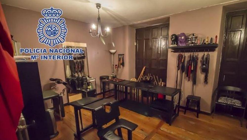 Sala dedicada al sadomasoquismo