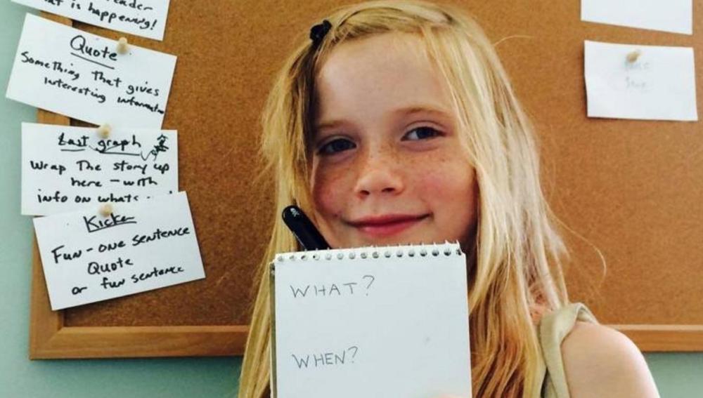 Hilde Lysiak, la niña que resuelve crímenes en EEUU