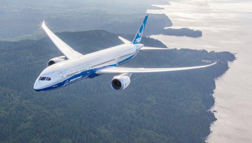 El nuevo 787-9 de Boeing