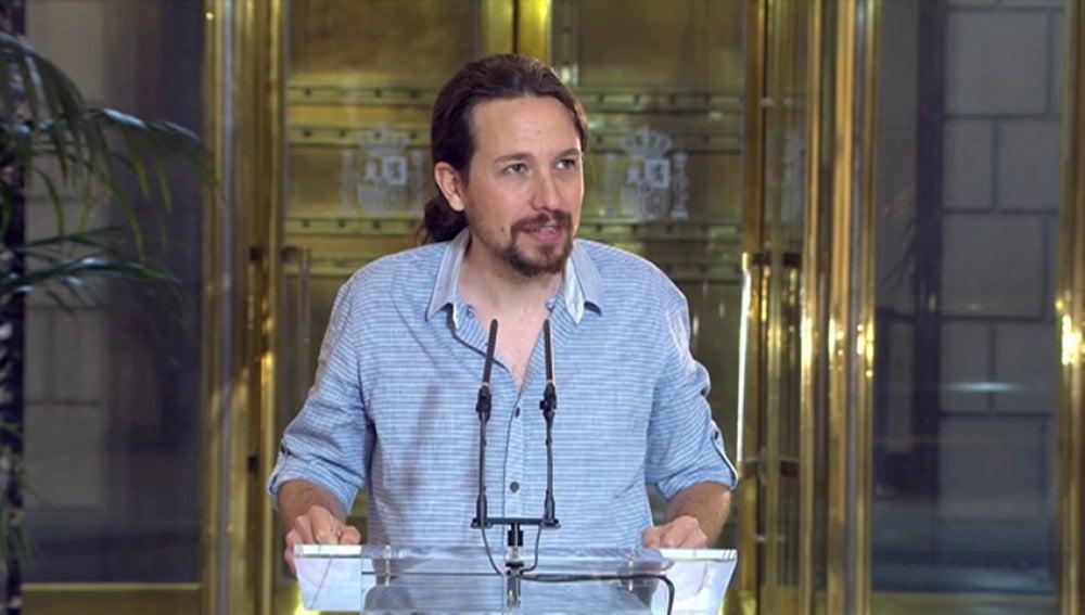 """Frame 4.270083 de: Pablo Iglesias: """"¡ lo que se diría si se hiciera gobernando nosotros ¡"""""""