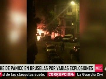 Varias explosiones en Bruselas