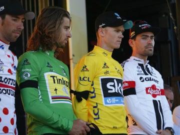 El Tour de Francia, de luto