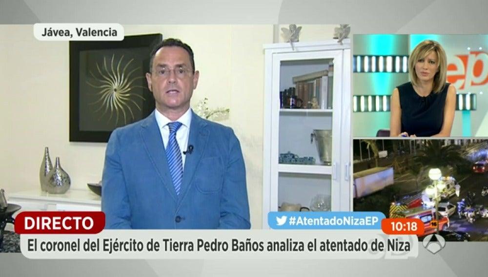 Antena 3 tv pedro ba os coronel experto en terrorismo - Coronel banos ...