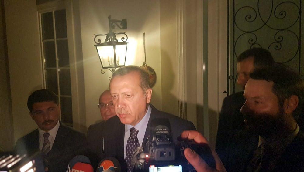 Erdogan, tras el Golpe de Estado en Turquía