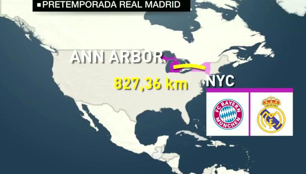 Pretemporada del Real Madrid