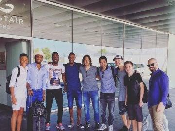 Puyol, Eto'o, Abidal y Deco, entre otros, rumbo a Turquía