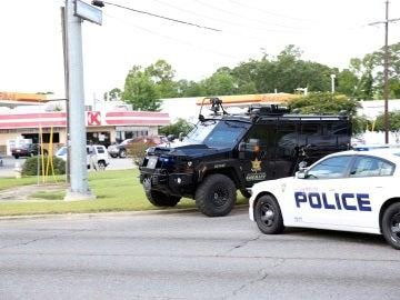 Lugar del tiroteo en Baton Rouge (Luisiana)