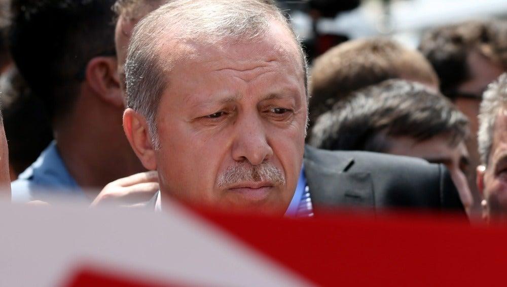 Erdogan, presidente de Turquía