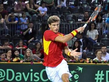 Pablo Carreño debuta en la Copa Davis
