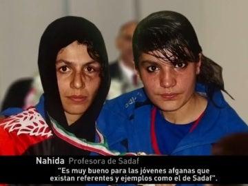 Las hermanas Rahimi, boxeadoras en Afganistán