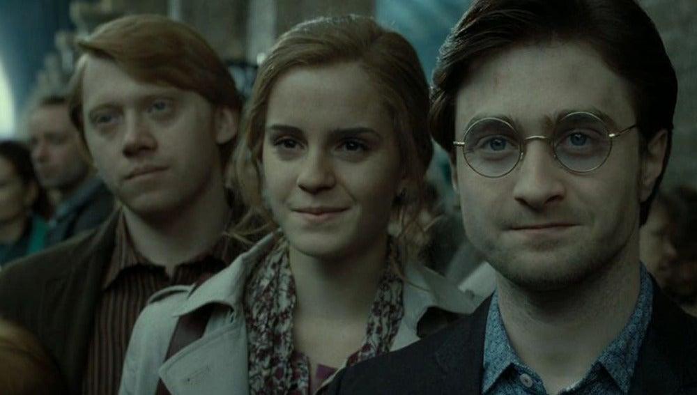 Última escena de Harry Potter