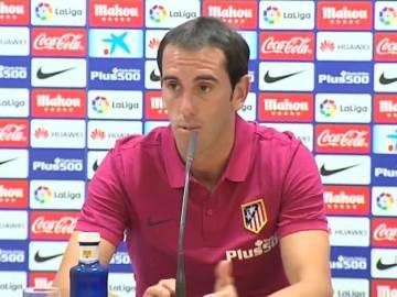 Diego Godín sigue soñando con la Champions