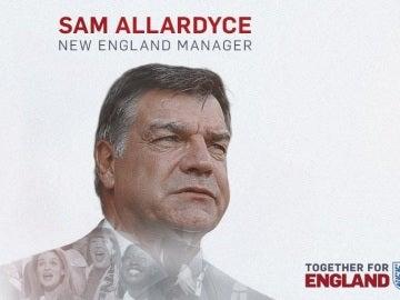Sam Allardyce, nuevo seleccionador de Inglaterra
