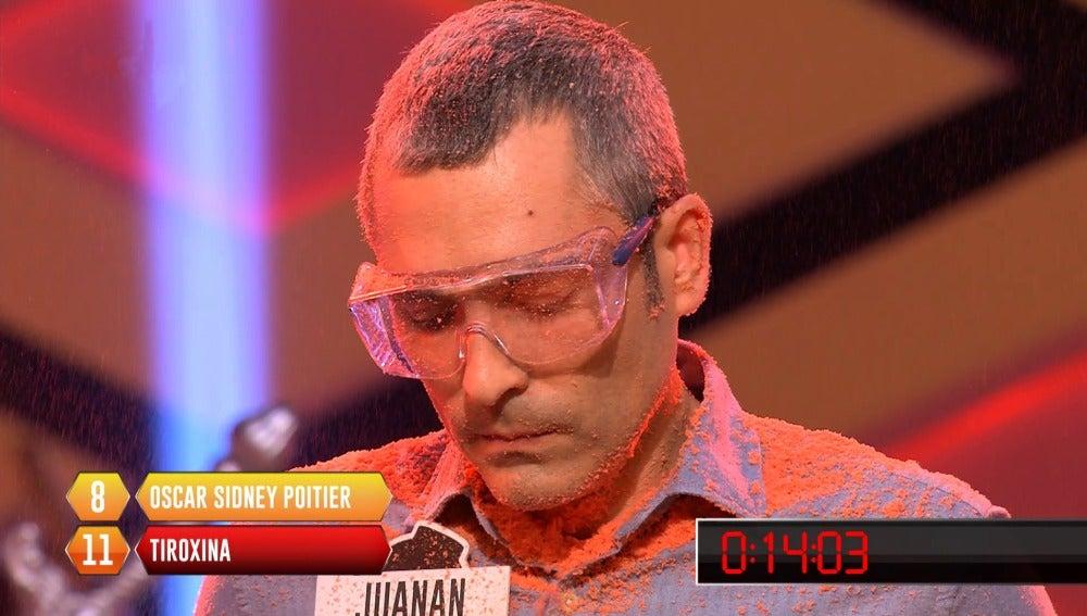 Juanan se equivoca en la bomba 11