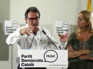 El nuevo presidente del Partit Demòcrata Català (PDC), Artur Mas