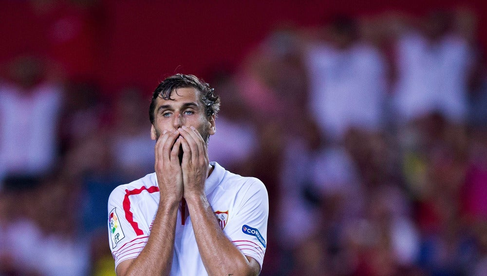 Fernando Llorente no viajará con el Sevilla