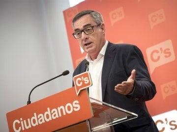 """El """"número dos"""" de Ciudadanos, José Manuel Villegas"""
