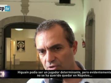 El alcalde de Nápoles critica a Higuaín por su marcha a la Juventus