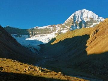 Montañas del Tíbet en Ngari (China)