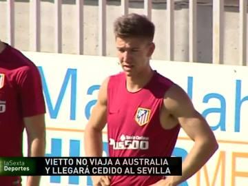 Vietto, con pie y medio en el Sevilla