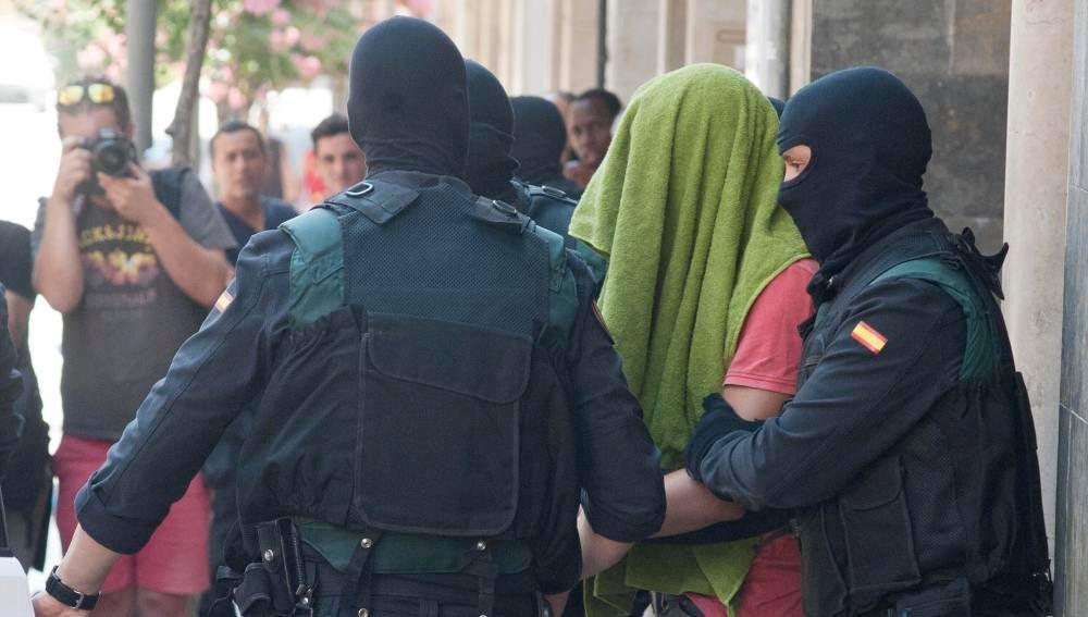 Los dos hermanos detenidos en Girona