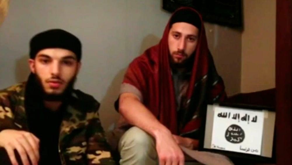 Los dos yihadistas de Normandía
