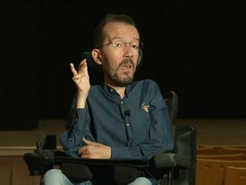 Frame 6.445218 de: Garzón censura a Echenique por su asistente sin contrato y pide investigarlo