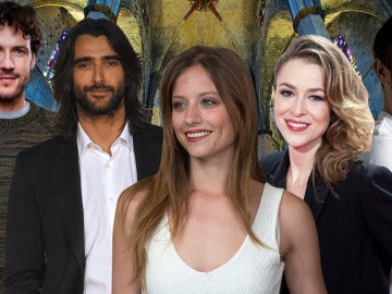 Aitor Luna, Michelle Jenner, Silvia Abascal, Pablo Derqui y Daniel Grao protagonizan 'La Catedral del Mar'