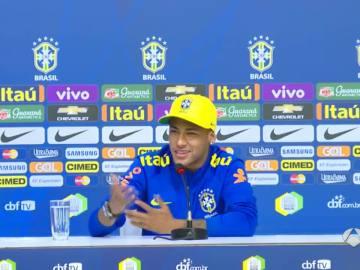 Neymar hablando de sus salidas nocturnas