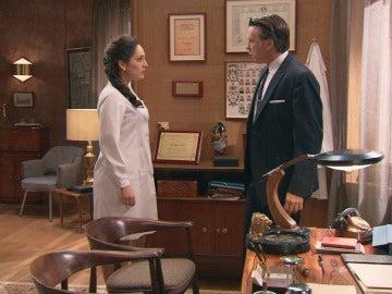 Tomás habla con Aitana