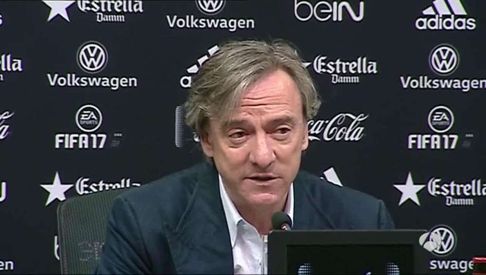 Pitarch reitera su negativa a vender a Parejo al Sevilla