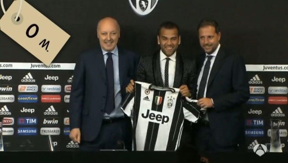 Dani Alves, a coste cero a la Juventus