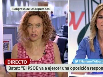 """Frame 207.745418 de: Batet, sobre los supuestos 125 puntos en común: """"Rajoy   no ha entregado ningún papel ni ningún documento"""""""