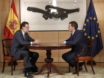 Rajoy y Rivera, segunda reunión en un mes
