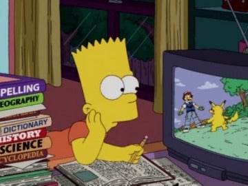 'Los Simpson' y 'Pokemon'