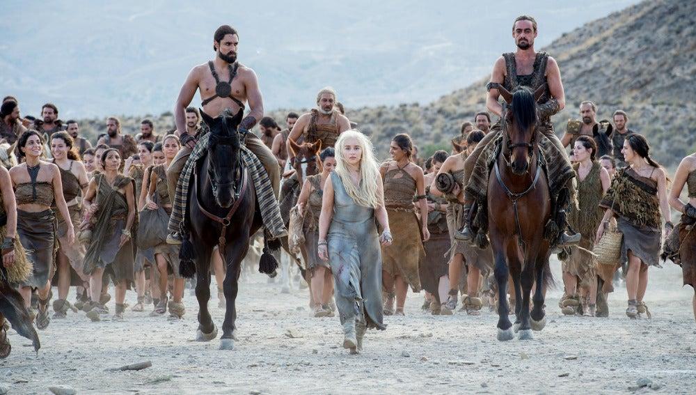 Daenerys Targaryen de 'Juego de Tronos'