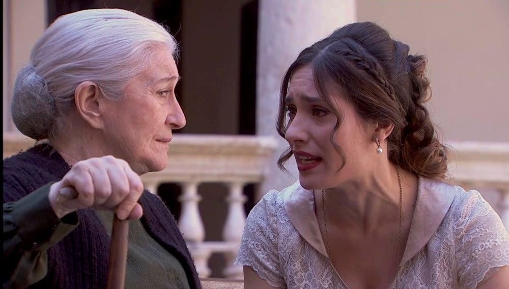 Camila se reúne con Doña Remedios