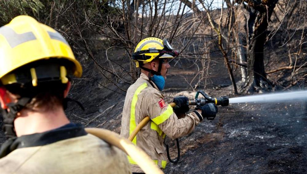 Incendio en Girona