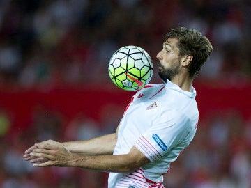 Fernando Llorente, en un partido con el Sevilla