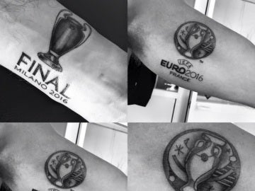 Tatuajes de Mark Clattenburg