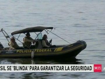 Frame 6.217142 de: 90.000 agentes para garantizar la seguridad en Río