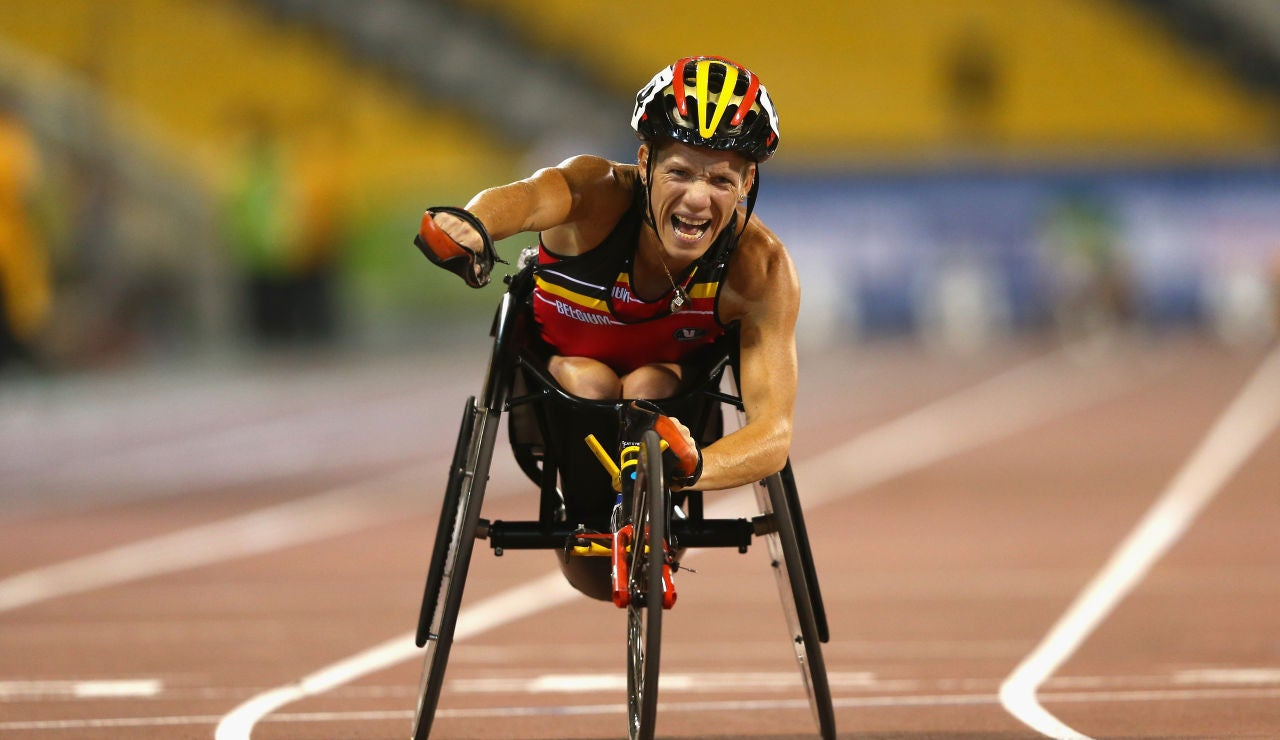 Marieke Vervoot, atleta paralímpica