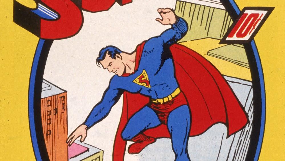 Vendido un primer número del cómic de Superman por un millón de euros