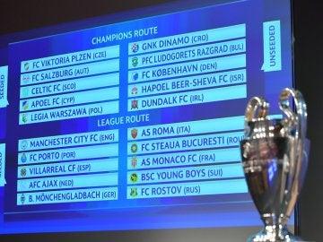 El Villarreal se enfrentará al Mónaco