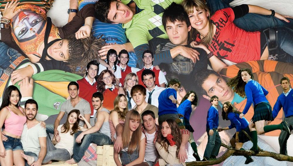 Los protagonistas juveniles que han marcado una generación