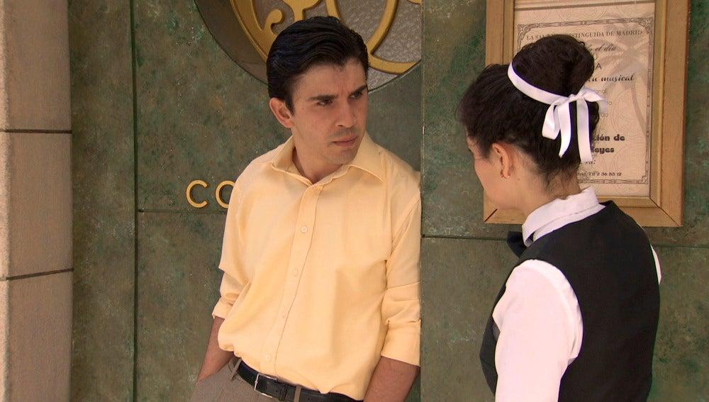 Ángel se siente culpable por la muerte del Rondeño
