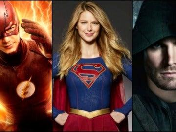 Flash, Supergirl y Arrow