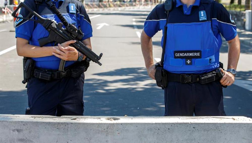 Policía en Suiza