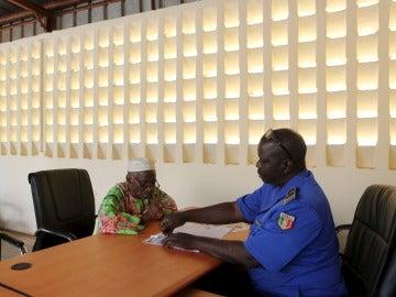 Funcionario de Mali