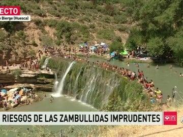 Salto de Bierge, en Huesca